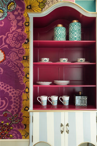 150㎡波西米亚风装修餐边柜设计