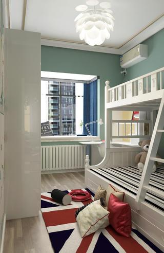 138㎡现代风格装修儿童房设计图