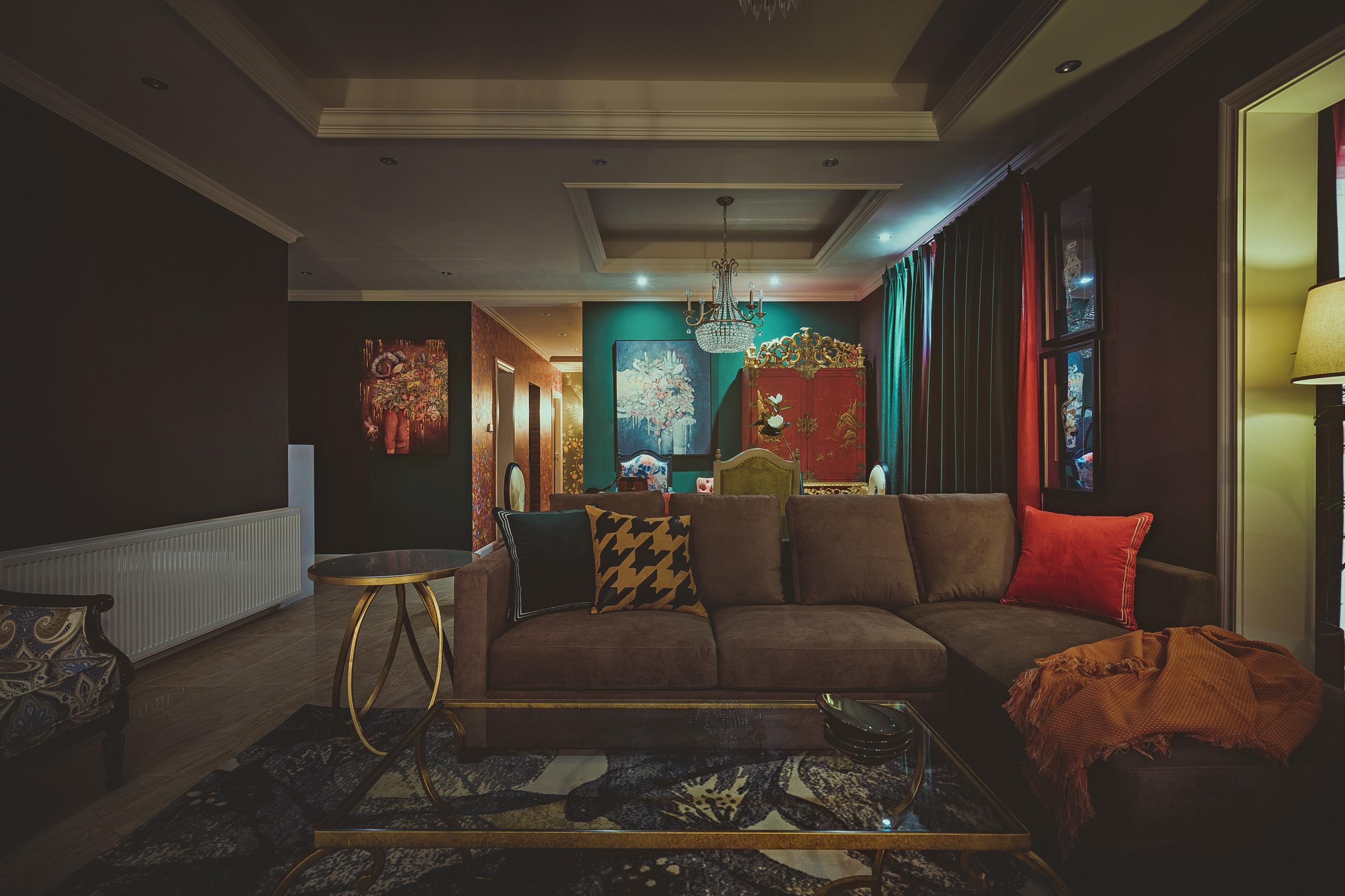 大户型混搭风格家客厅效果图