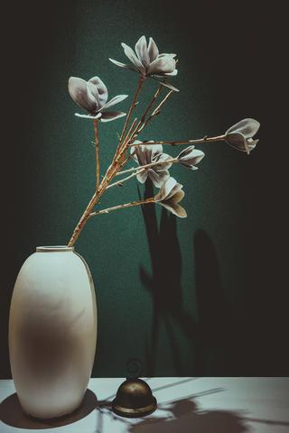 大户型混搭风格家花瓶图片