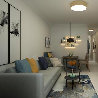 二居室现代北欧家 舒适自然