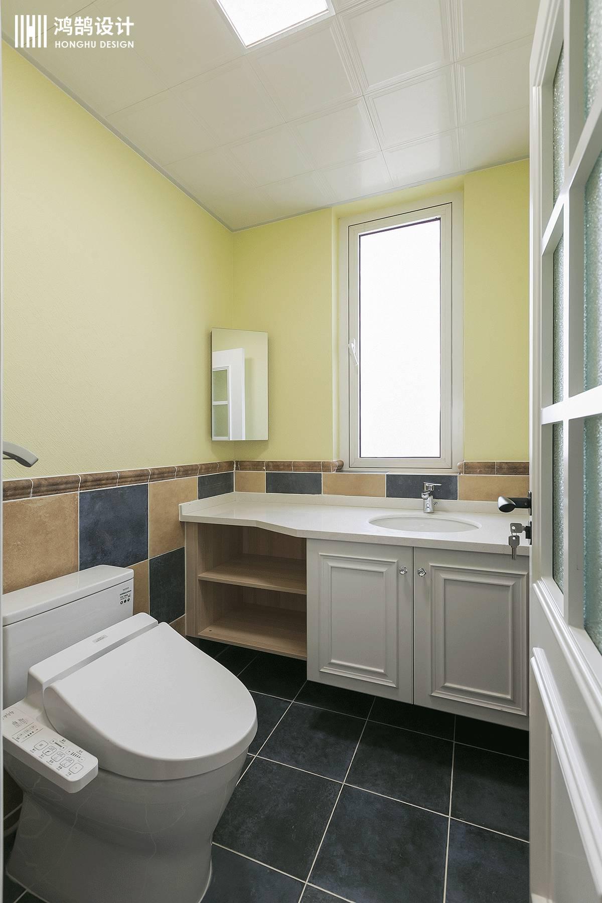 120㎡简约美式家卫生间装潢图