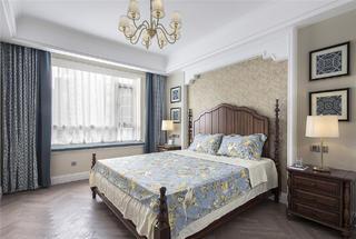 165㎡美式風格裝修臥室效果圖