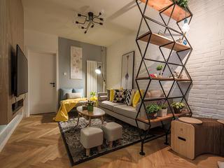 三居室北欧风格家玄关设计