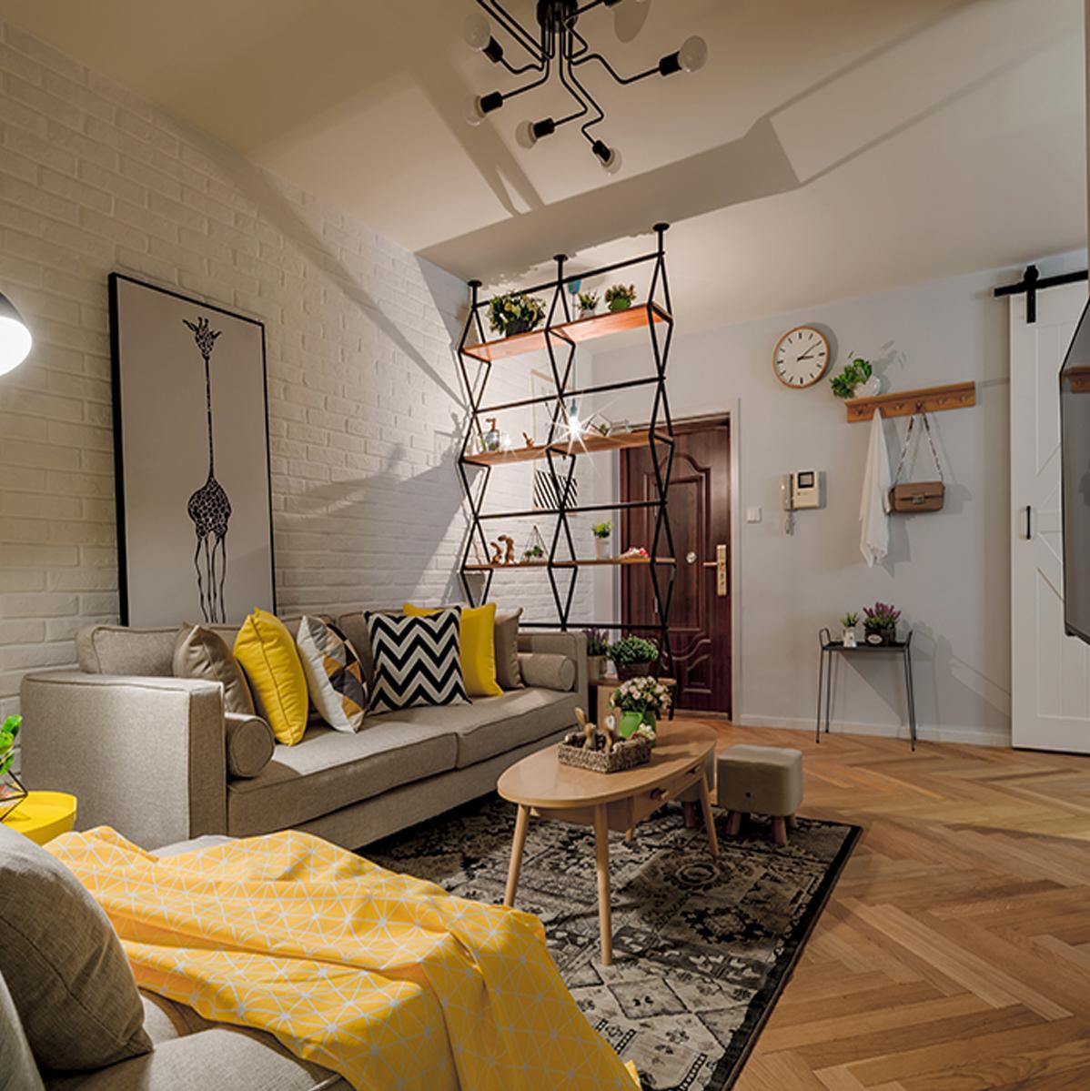 三居室北欧风格家 沐浴自然