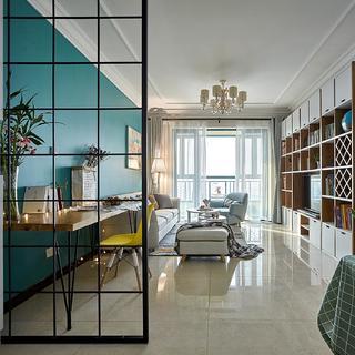 80平米两居室装修效果图