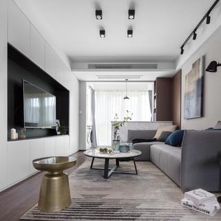 78平米二居室装修效果图
