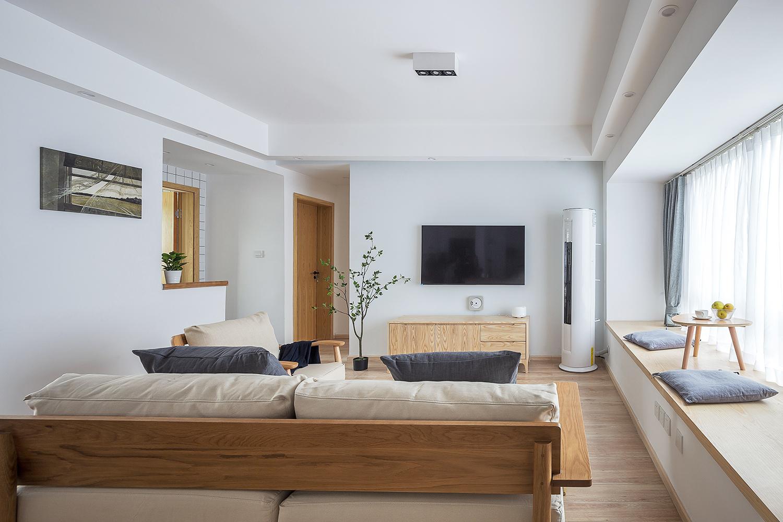 日式风三居客厅装修效果图