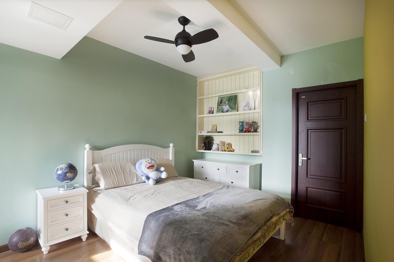 120㎡美式复式装修儿童房效果图