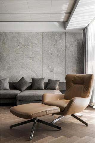 台式简约风别墅装修沙发椅设计