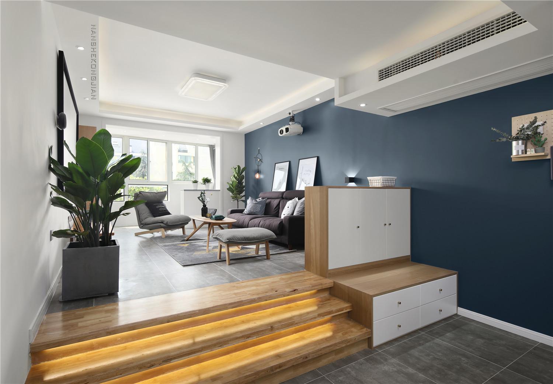 北欧风格两居客厅装修效果图