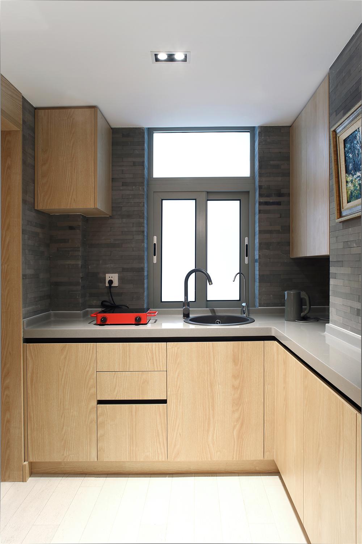 45平一居室公寓厨房装修效果图