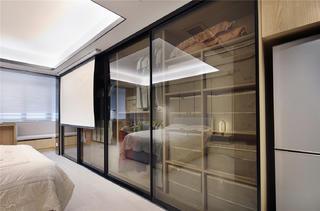45平一居室公寓装修衣柜设计