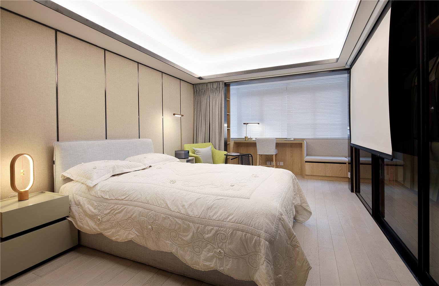 45平一居室公寓卧室装修效果图