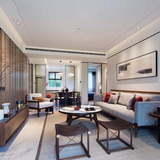新中式风格四居装修效果图