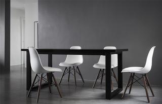 102㎡现代极简风装修餐桌椅设计
