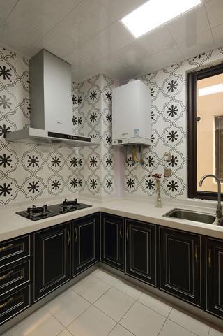 133㎡美式风格厨房装修效果图
