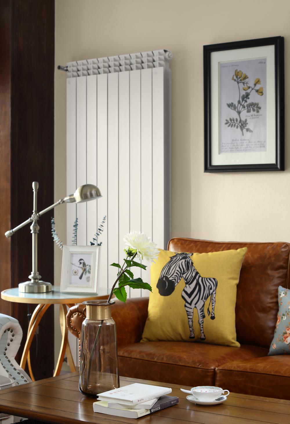 133㎡美式风格装修客厅小景