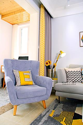 北欧风二居装修沙发椅设计