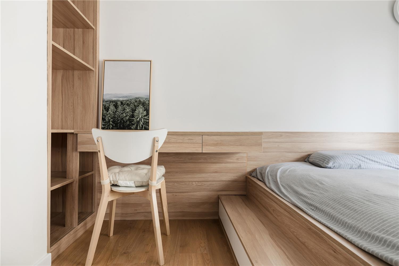 90平米两居榻榻米卧室装修效果图