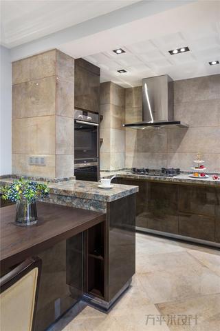 124㎡现代美式厨房装修效果图