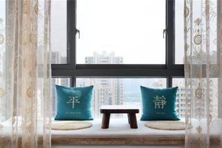 138平美式风格装修飘窗设计