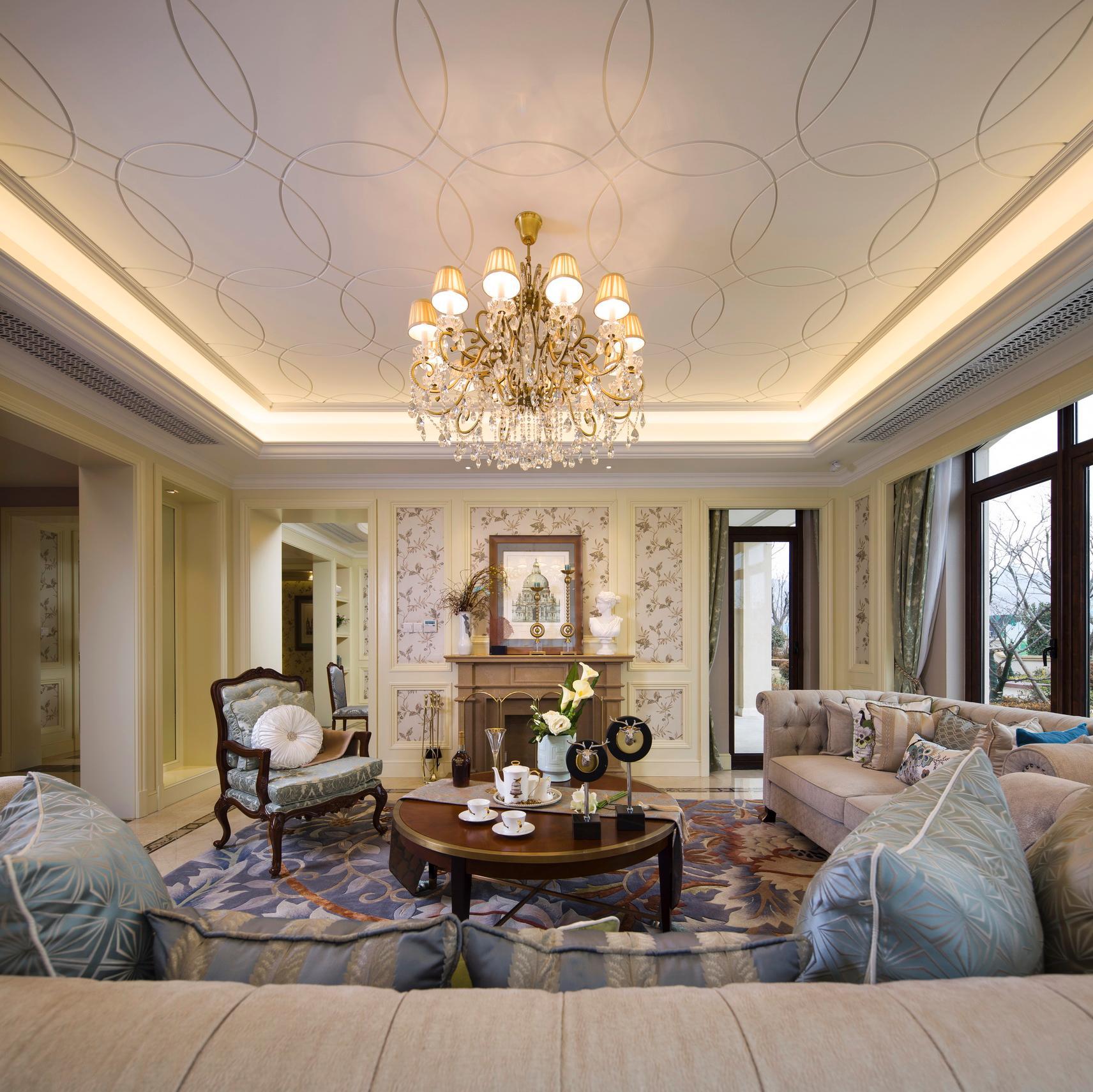 法式别墅装修设计效果图