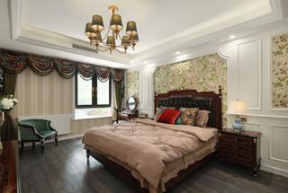 大户型美式风卧室每日首存送20