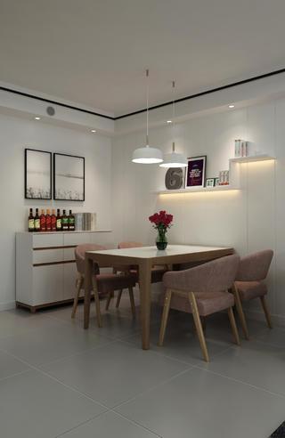 北欧风格两居餐厅每日首存送20