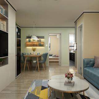 现代风格两居装修效果图
