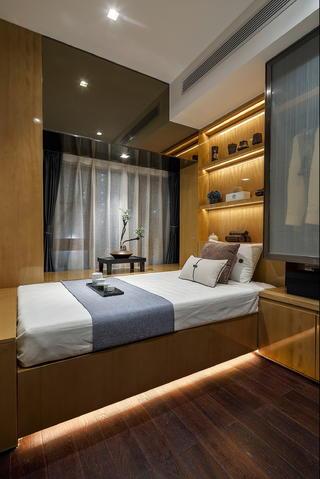 现代中式两居榻榻米房装修效果图