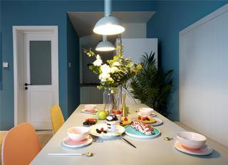75平北欧风格餐厅装修效果图