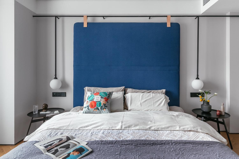 97平米北欧风卧室装修效果图