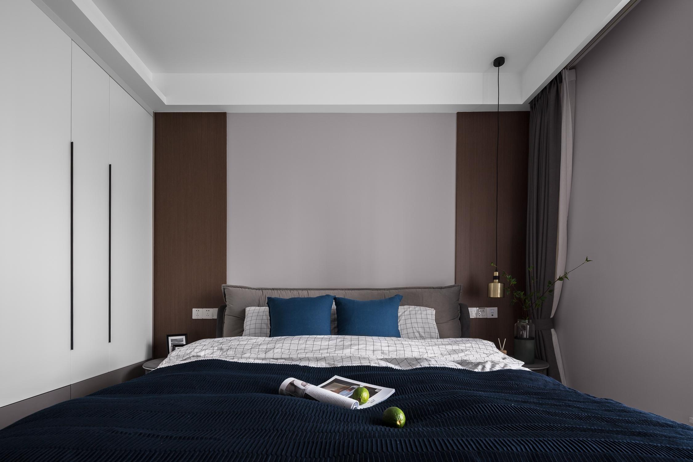 78平米二居卧室装修效果图