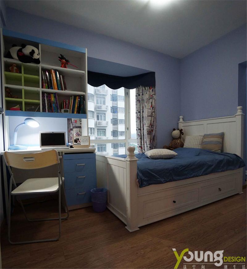 68平米两居室儿童房装修效果图