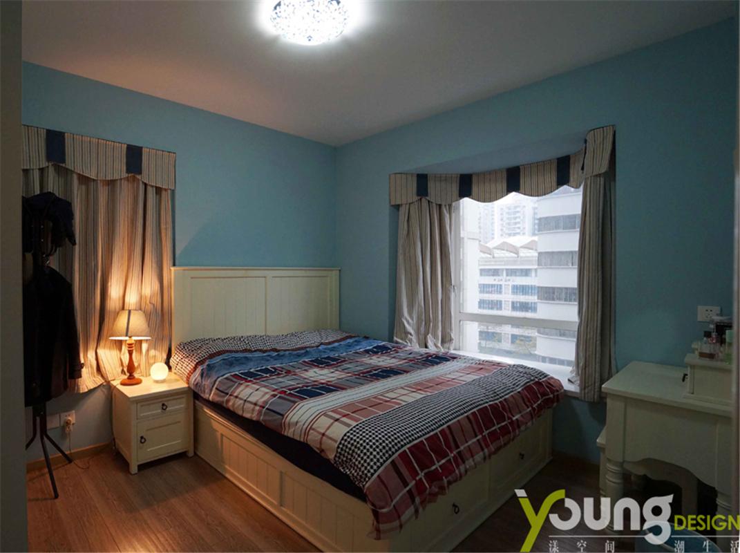 68平米两居卧室装修效果图