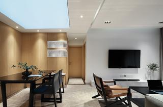 现代简约三居客餐厅每日首存送20