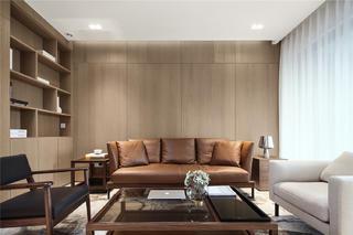 189平米三居室沙发背景墙装修效果图
