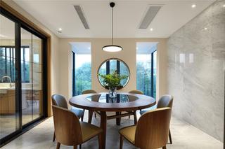 189平米三居室餐廳裝修效果圖