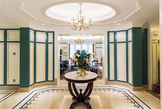 奢华法式风格门厅装修效果图