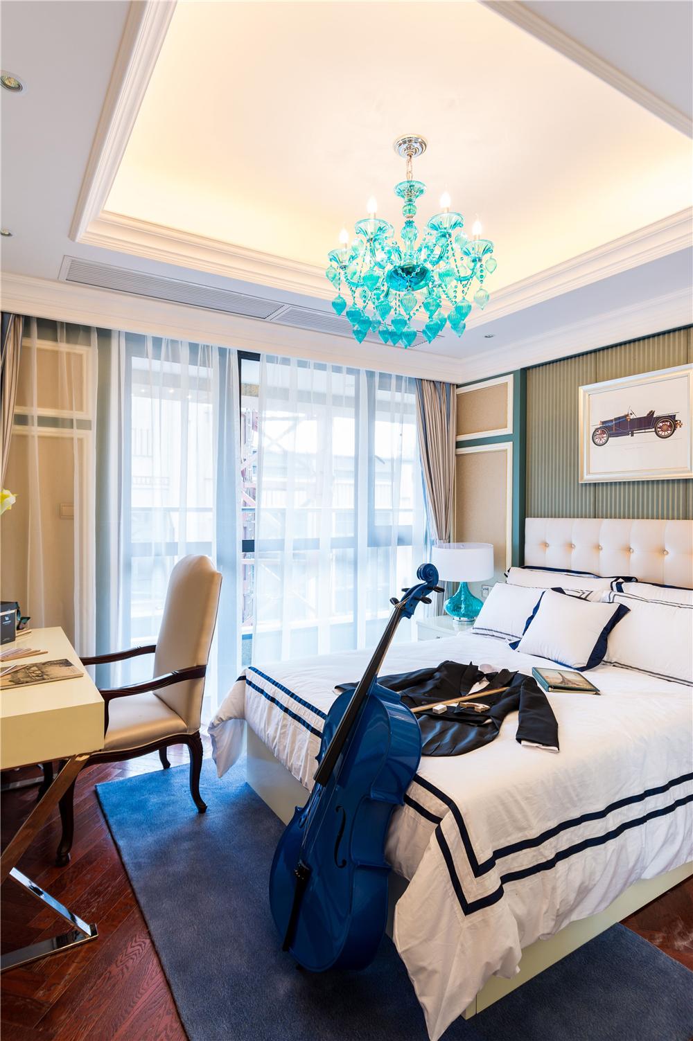 奢华法式风格卧室装修效果图