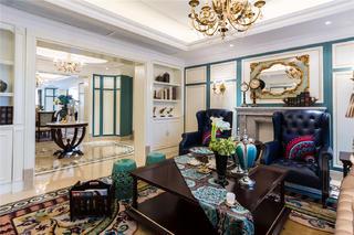 奢华法式风格客厅装修效果图