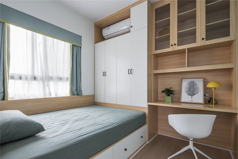 北欧风格三居室榻榻米装修效果图