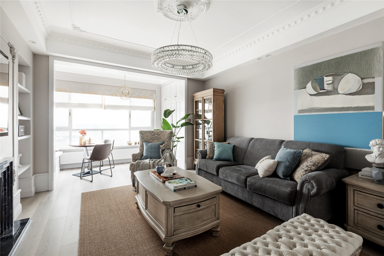 137平米四居室客厅装修效果图