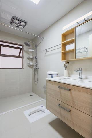 100㎡日式风格卫生间装修效果图
