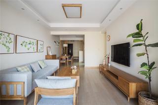 100㎡日式风格客厅每日首存送20
