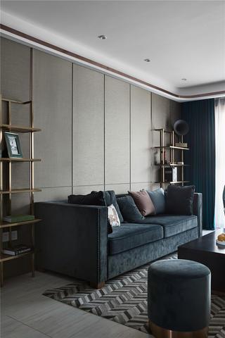 170平现代混搭风沙发墙装修效果图