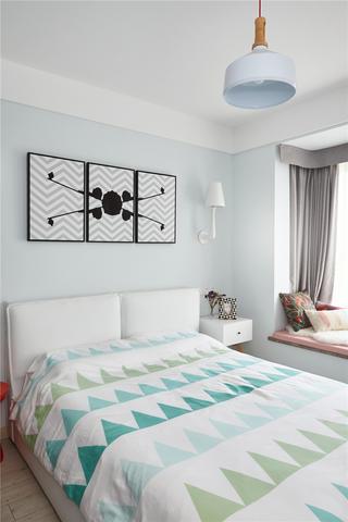 北欧风两居卧室每日首存送20