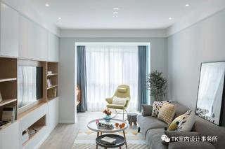 89平三居室客厅装修效果图