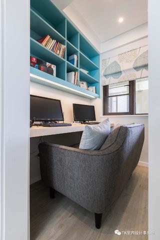 89平三居室书房装修效果图
